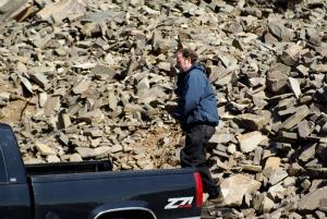 A rock quarry