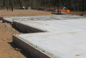 Home builder and first floor construction for Raised foundation types