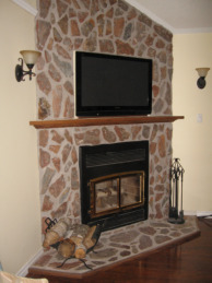 Zero clearance fire place