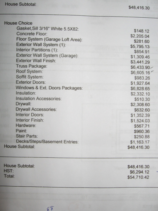 Home project cost estimator