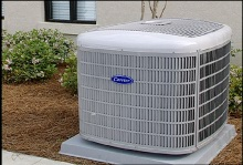A picture of a heat pump