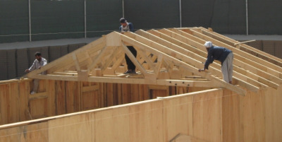 Roof truss construction Being your own contractor building home
