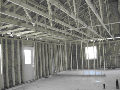 Roof trusses with large span