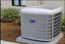 A picture of a heat pump