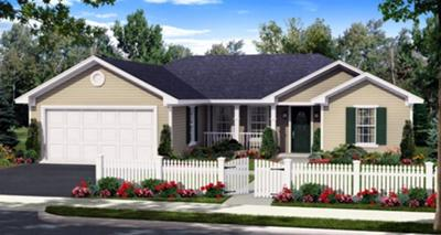 This is a pix. of one of the houses we are considering .(it shure looks nice in the pix.)